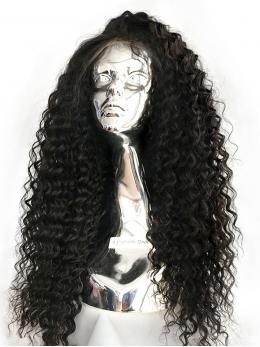 Curly Human Hair Glueless Full Lace Wig OC004