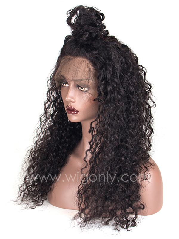 Wet And Wavy Lace Front Wigs With Baby Hair OC014