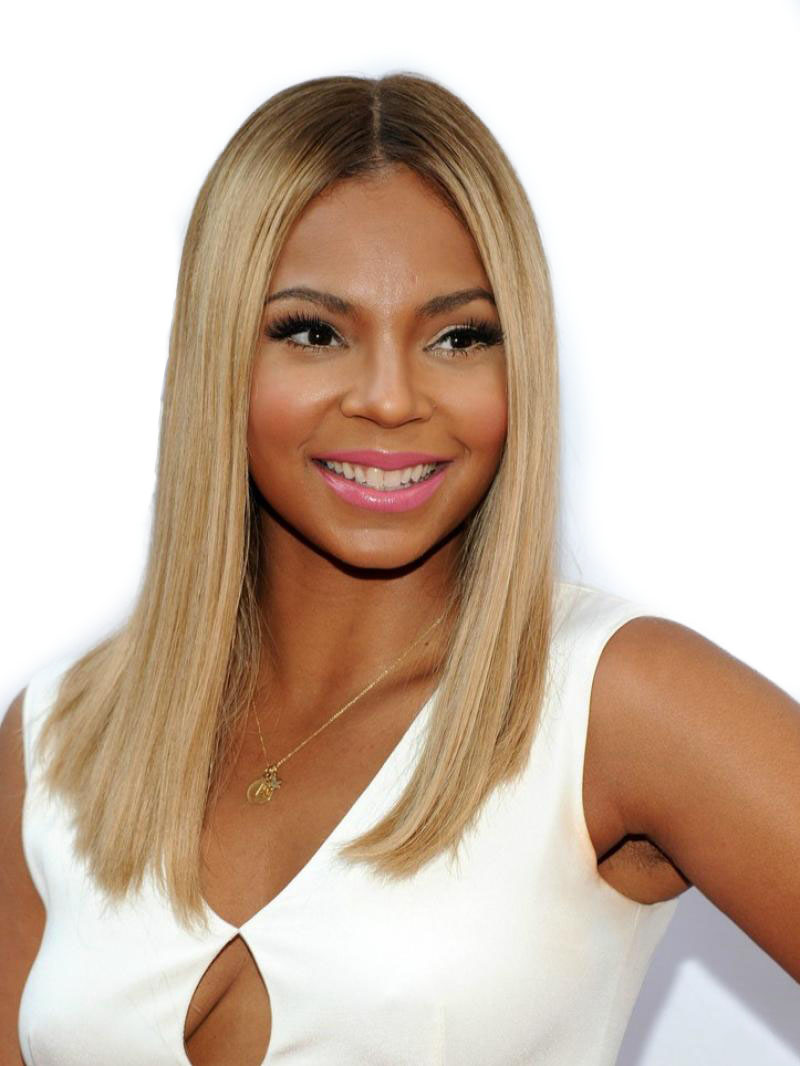 Ash Blonde Ombre Virgin Human Hair Lace Wig OM011