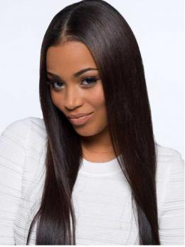 Natural Straight Human Hair Full Lace Wig OS001