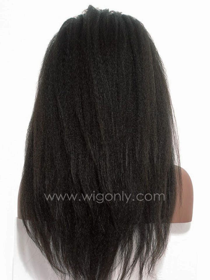 Kinky Straight Glueless Full Lace Wig OS003