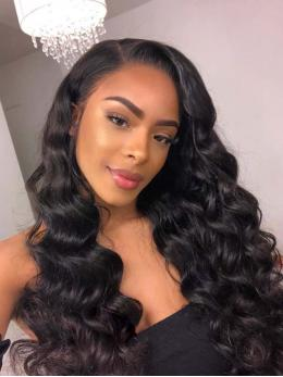 Body Wave Human Hair Lace Front Wig OW002