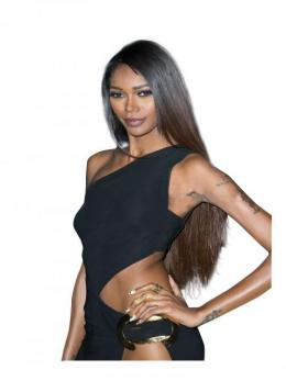 Jessica White Chinese Virgin Human Hair Straight Full Lace Wig - TBF010