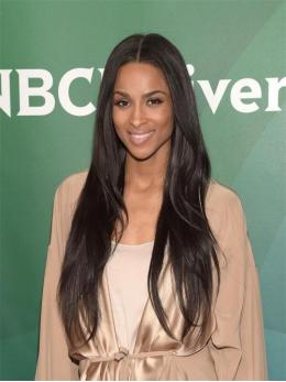 Ciara Inspired Straight Full Lace Human Hair Wig With Layers -TBF012