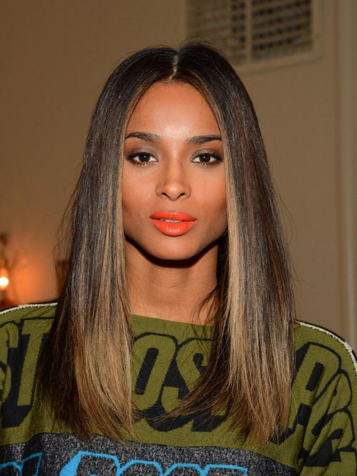 Stock Ciara Inspired Straight Full Lace Human Hair Wig-TBF021