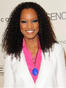 Stock Garcelle Beauvais Human Hair Full Lace Wig-Curly-TBF026