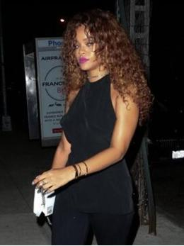 Rihanna Inspired Curly Full Lace Human Hair Wig-TBF028