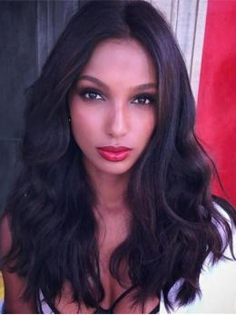 Jasmine Tookes Inspired Virgin Wavy human hair lace wigs - TLF007