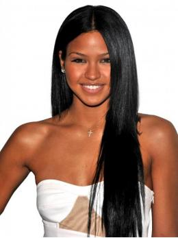 Celebrity Inspired Virgin Straight human hair lace wigs -TLF013